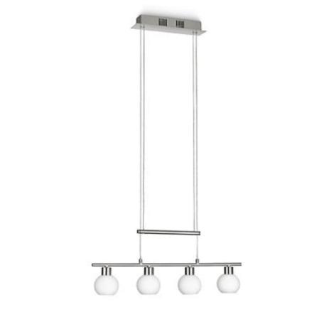 Philips 39125/17/16 – Lustră dimmabilă LED pe cablu 4xLED/3,6W/230V alb