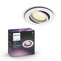 Philips 50451/31/P7 - LED RGB Lampă încastrată CENTURA 1xGU10/5,7W/230V