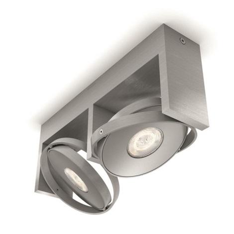 Philips 53152/48/P0 - LED Lampă spot PARTICON 2xLED/4,5W/230V