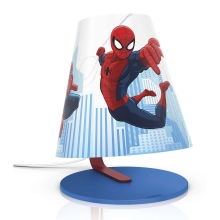 Philips 71764/40/26 - Lampa LED pentru copii MARVEL SPIDER-MAN LED/3W/230V