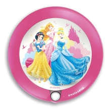 Philips 71765/28/16 - LED Lampă copii cu senzor DISNEY PRINCESS 1xLED/0,06W/2xAAA