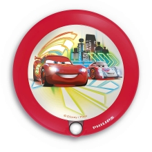 Philips 71765/32/16 - LED Lampă copii cu senzor DISNEY CARS 1xLED/0,06W/2xAAA