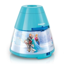 Philips 71769/08/16 - Proiector LED copii DISNEY FROZEN 1xLED/0,1W/3xAA
