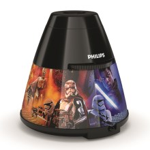 Philips 71769/30/P0 - Proiector LED copii DISNEY STAR WARS LED/0,1W/3xAA