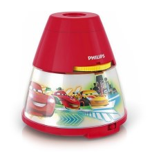 Philips 71769/32/16 - Proiector LED copii DISNEY CARS 1xLED/0,1W/3xAA