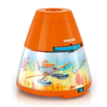 Philips 71769/53/16 - Proiector LED copii DISNEY PLANES 1xLED/0,1W/3xAA