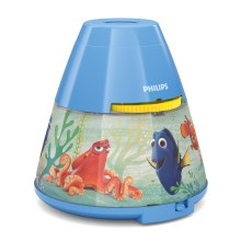 Philips 71769/90/16 - Lampa copii DISNEY FINDING DORY LED/0,1W/3xAAA