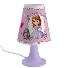 Philips 71795/96/16 - LED Lampă de masă copii DISNEY SOFIA 1xLED/2,3W/230V