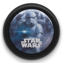 Philips 71924/30/P0 - Lampa de copii cu touch DISNEY STAR WARS STORMTROOPER LED/0,3W/2xAA