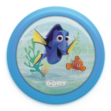 Philips 71924/35/P0 - LED Lampă cu touch copii FINDING DORY LED/0,3W/2xAA