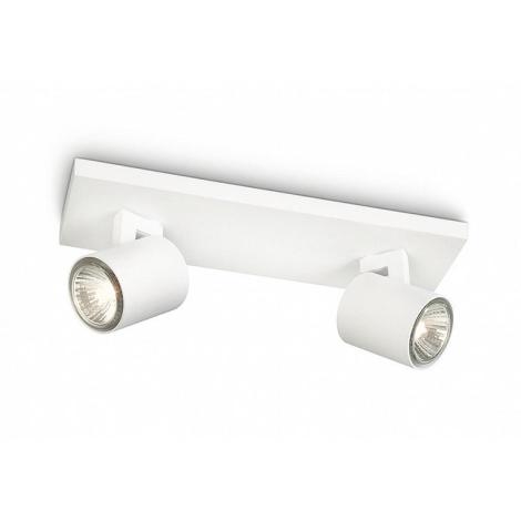 Philips - Lampa spot 2xGU10/50W/230V