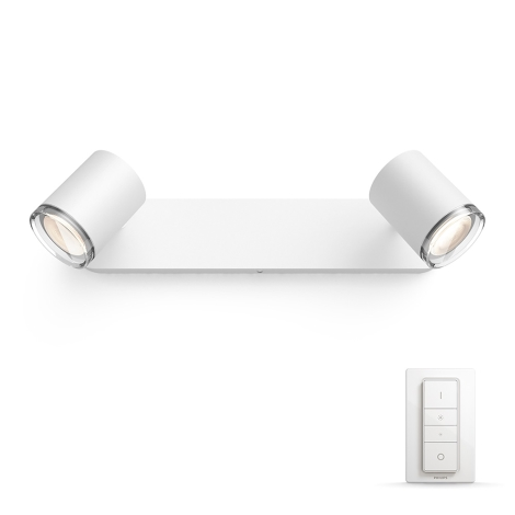 Philips - Lampă spot Hue 2xGU10/5,5W/230V