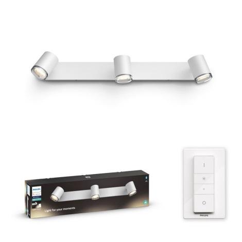 Philips - LED Lampă dimmabilă baie Hue 3xGU10/5W/230V IP44