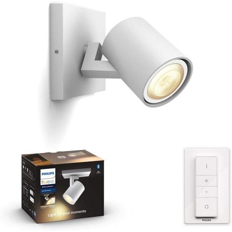 Philips - LED Lampă dimmabilă Hue 1xGU10/5W/230V + Telecomandă