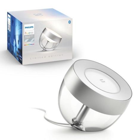Philips - LED RGB Lampă de masă Hue LED/10W/230V argintiu