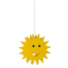 Philips Massive 75500/01/34 - Lampa copii SMILEY 1xE27/60W/230V