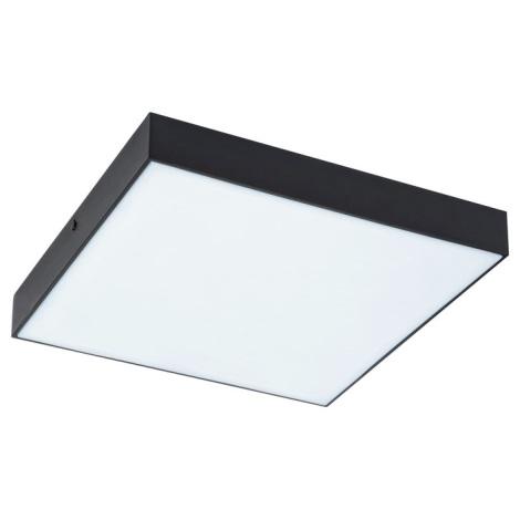Plafonieră LED dimabilă Rabalux LED/18W/230V 3000-6000K IP44 neagră