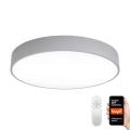 Plafonieră LED dimabilă RONDATE LED/65W/230V Tuya gri Immax NEO 07143-GR80 + telecomandă