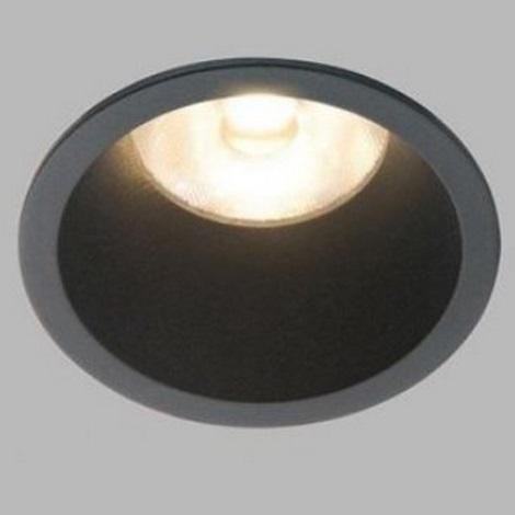 Plafonieră LED încastrată pentru baie RAY LED/10W/230V neagă IP44 LED2