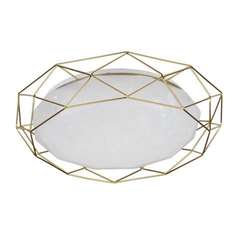 Plafonieră LED SVEN LED/24W/230V auriu