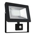 Proiector LED cu senzor NOCTIS 2 SMD LED/30W/230V IP44 2050lm negru