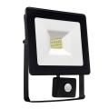 Proiector LED cu senzor NOCTIS LUX SMD LED/10W/230V IP44 900lm negru