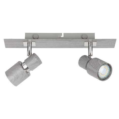 Rabalux 6126 - Lampa spot MERKUR 2xGU10/50W/230V