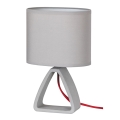 Rabalux - Lampă de masă 1xE14/40W/230V gri