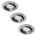 Rabalux - SET 3x Corp de iluminat tavan fals LITE 3xGU10-LED/3W/230V