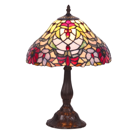 Rabalux - Tiffany Lampa de masa 1xE27/60W/230V