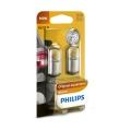 SET 2x Bec auto Philips VISION 12814B2 BA15s/10W/12V