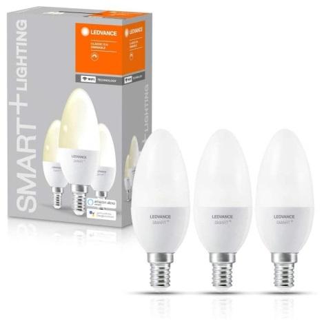 SET 3x Bec de iluminat cu LED SMART + E14/ 5W/230V 2700K wi-fi - Ledvance