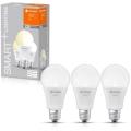 SET 3x Bec de iluminat cu LED SMART + E27/14W/230V 2700K wi-fi - Ledvance