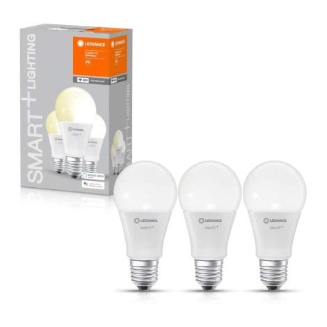 SET 3x Bec de iluminat cu LED SMART + E27/9,5W/230V 2700K wi-fi - Ledvance