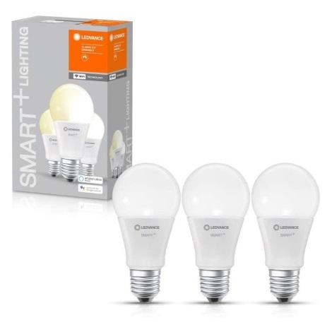 SET 3x Bec de iluminat cu LED SMART + E27/9W/230V 2700K wi-fi - Ledvance