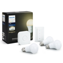 Set de bază Philips HUE WHITE 3xE27/9W/230V