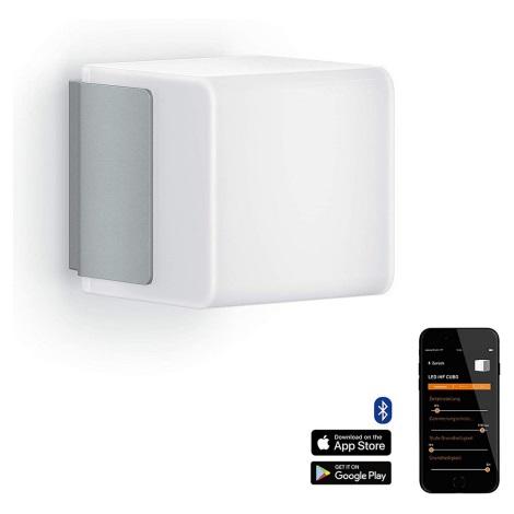Steinel 055523 - LED Lampă exterior cu senzor L 835 LED/9,5W/230V IP44 argintiu