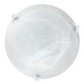 Top Light 5504/40/B/AL - Plafoniera 2xE27/60W/230V