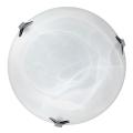 Top Light 5504/40/Cr/AL - Plafoniera 2xE27/60W/230V