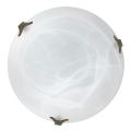Top Light 5504/40/ZL/AL - Plafoniera 2xE27/60W/230V