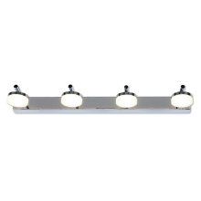 Top Light - Corp de iluminat LED baie HUDSON 4xLED/5W/230V