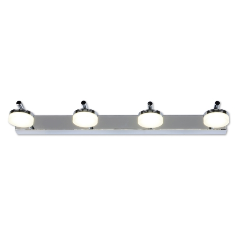 Top Light - Corp de iluminat LED baie HUDSON 4xLED/5W/230V
