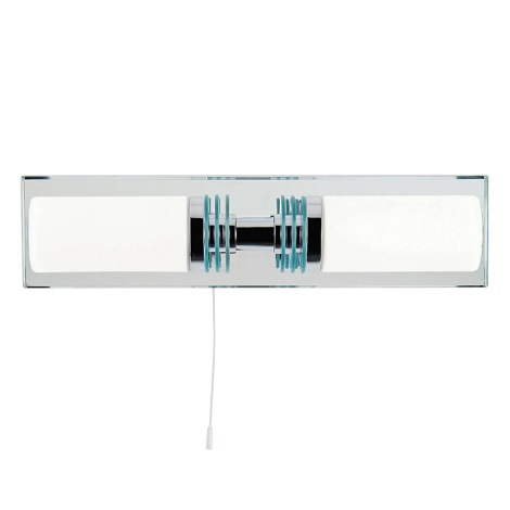 Top Light Odra 2 - LED Lampă baie ODRA 2xG9/5W/230V + 2xG9/40W/230V