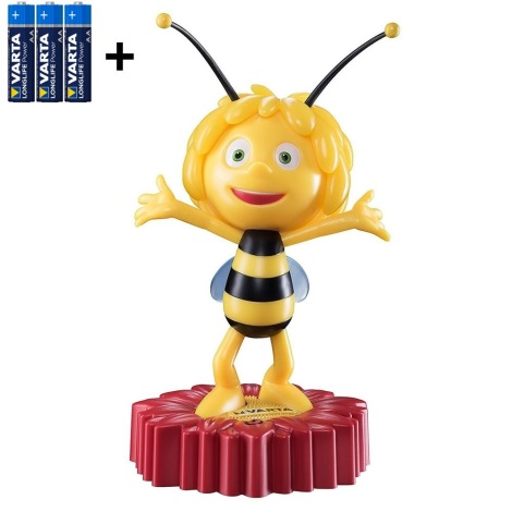 Varta 15635 - LED Veioză de noapte copii MAYA THE BEE LED/3xAA