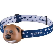 Varta 17500 - LED Frontală copii BEAR LED/3xAAA
