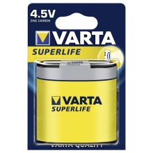 Varta 2012 - 1 buc Bateri zinc carbon SUPERLIFE 4,5V